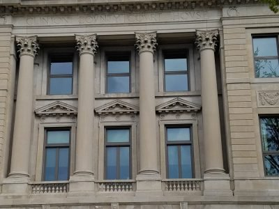 clinton county courthouse window renovation project